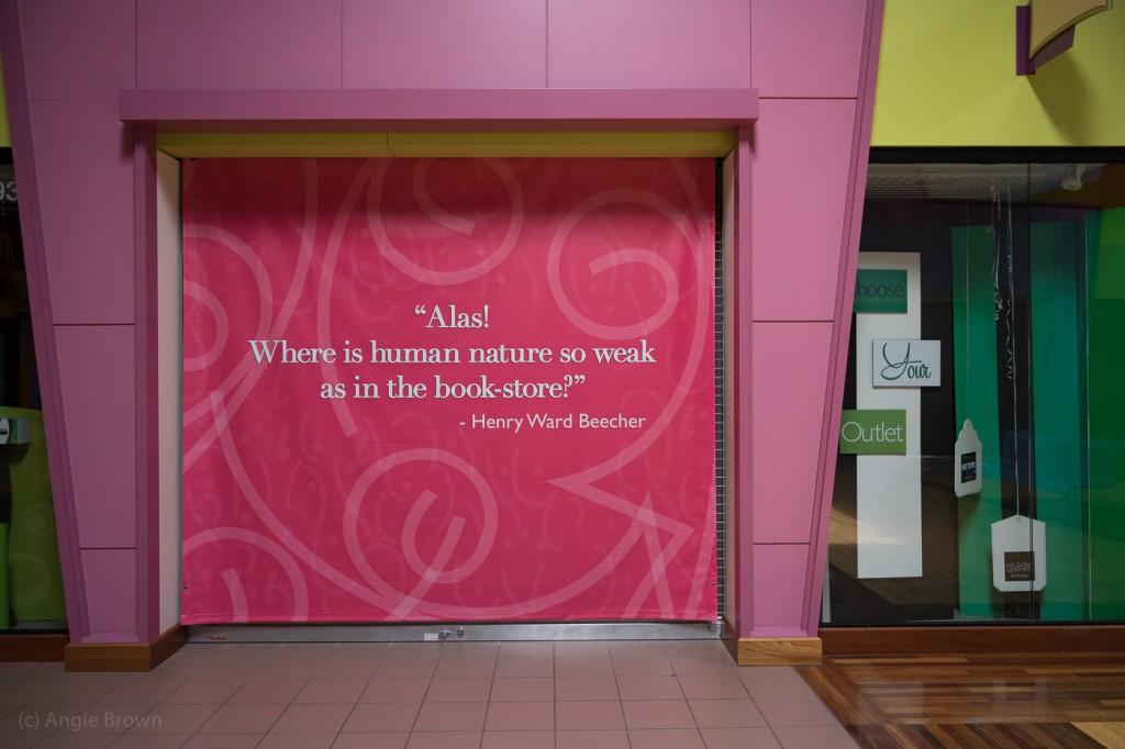 Human nature - bookstore quote